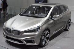 2013 aktivt Tourerbegrepp för GZ AUTOSHOW-BMW Royaltyfri Bild