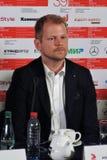 Aktor Antti Luusuaniemi, Finlandia, przy Moskwa Międzynarodowym Ekranowym festiwalem Zdjęcie Stock