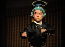 aktor opera porcelanowa kapeluszowa fotografia stock