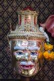 Aktora ` s maska zdjęcie stock