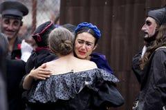 Aktorka płacz Zdjęcie Royalty Free