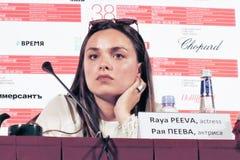 Aktorka Raya Peeva obraz royalty free