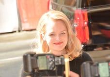 Aktorki Elisabeth mech Zdjęcia Royalty Free