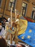aktorzy uliczni Fotografia Royalty Free