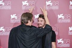 Aktorzy William Friedkin i Emile Hirsch zdjęcie royalty free