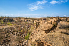 Aktovsky canyon Stock Photos