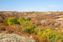 Aktovsky canyon Stock Images