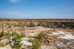 Aktovsky canyon Royalty Free Stock Photo