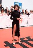 Aktrins Jackie Cruz på premiären av ` detta ändrar allt ` på den Toronto Internationalfilmfestivalen 2018 , #metoo royaltyfria foton