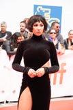 Aktrins Jackie Cruz på premiären av ` detta ändrar allt ` på den Toronto Internationalfilmfestivalen 2018 , #metoo royaltyfri fotografi
