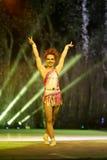 Aktris av cirkusleendet Fotografering för Bildbyråer