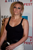 Aktris Hilary Duff arkivbild