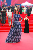Aktris Irina Lachina på Moskvafilmfestivalen Arkivfoton