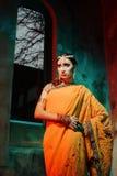 Aktris på scenen Royaltyfria Foton