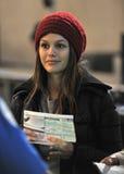 aktrisflygplatsbilson Kalifornien slappa rachel royaltyfria foton