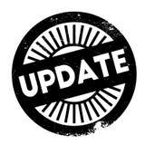Aktualizaci stemplowy gumowy grunge Obrazy Royalty Free