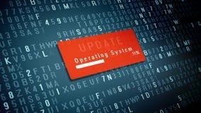 Aktualizacja systemu operacyjnego pojęcie ilustracji