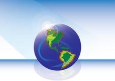 Aktuell värld Arkivbild
