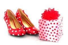 aktuella skor för förälskelse Royaltyfri Bild