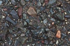 aktuella stenar för strand royaltyfri bild