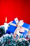 aktuellt glitter för jul Arkivbilder