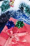aktuellt glitter för jul Royaltyfria Foton