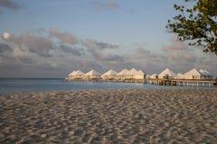 Aktuellt strandlandskap royaltyfri foto