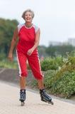 Aktywna starsza kobieta Fotografia Royalty Free