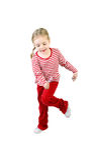 aktywne dziewczyny lollypop Zdjęcia Stock