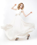 aktywnej mody dziewczyny uroczy wzorcowy target2958_0_ Obraz Royalty Free