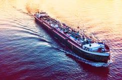 aktywność ładunku Hamburg portu statek Zdjęcia Royalty Free