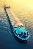 aktywność ładunku Hamburg portu statek Zdjęcie Royalty Free