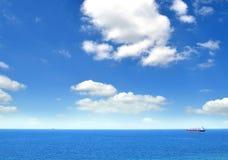 aktywność ładunku Hamburg portu statek Obraz Royalty Free