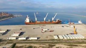 aktywność ładunku Hamburg portu statek zbiory