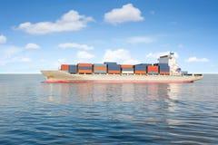 aktywność ładunku Hamburg portu statek Obrazy Royalty Free