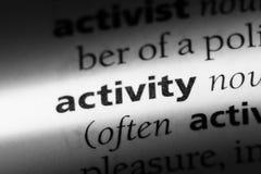 aktywność fotografia stock