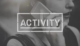 Aktywność hobby interesu czasu wolnego pojęcie Fotografia Stock