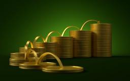 aktywność inwestorskie royalty ilustracja
