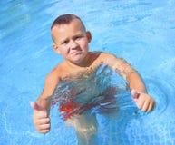 Aktywność na basenie obrazy stock