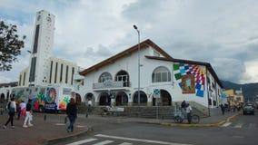 Aktywność na zewnątrz kwater głównych Decentralizujący Autonomiczny rząd Tumbaco Zdjęcia Stock