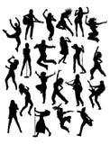 Aktywności ludzie, piosenkarz, gitarzysta i Hip Hop, royalty ilustracja