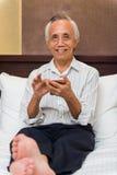 Aktywny męski starszy ono uśmiecha się Obraz Royalty Free