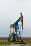 Aktywny ropa i gaz takielunek Fotografia Royalty Free