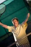 aktywny senior człowieka Zdjęcia Stock