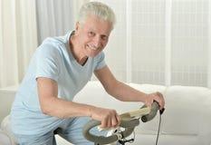 aktywny senior człowieka Zdjęcie Stock