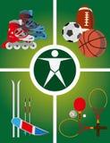 Aktywny spoczynkowa ikona - Wektorowa ilustracja Obraz Stock