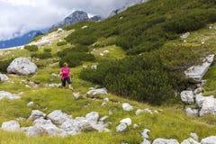 Aktywny styl życia - zdrowy styl życia Czuciowy dobry gdy chodzący zdjęcie royalty free