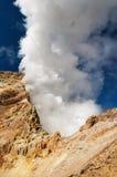 aktywny wulkan Zdjęcie Royalty Free