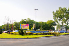 Akuafo skrzyżowanie - Accra, Ghana Obrazy Royalty Free