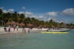 Akumal Beach Royalty Free Stock Photo